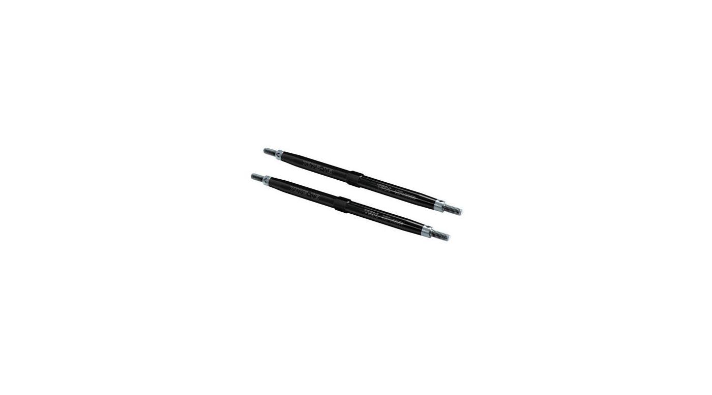 Image for Rear Aluminum Toe Links, Black (2): TMX. EMX from HorizonHobby