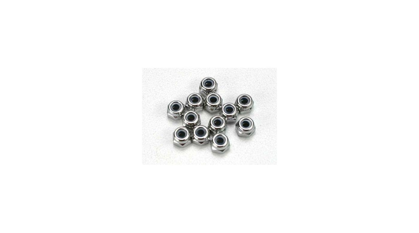 Image for Nuts, 2.5mm Nylon Locking (12):SLY from HorizonHobby