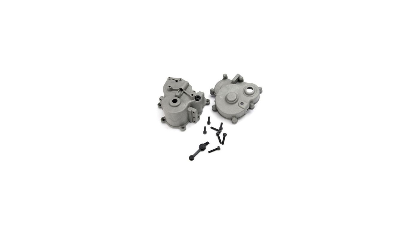 Image for Fr & R Gearbox Halves: TMX 3.3 from HorizonHobby