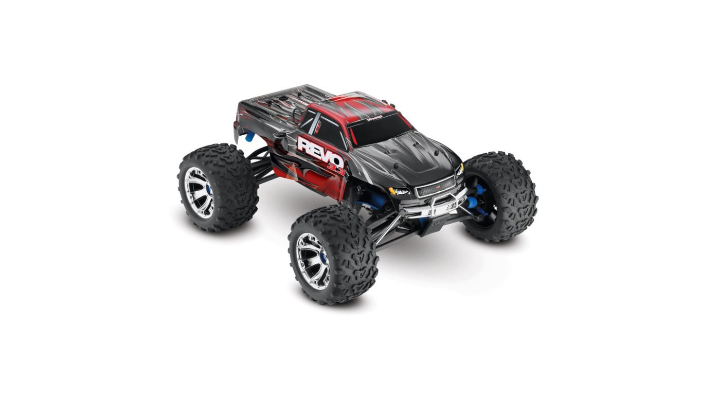 Image for 1/10 Revo 3.3 4WD Nitro Monster Truck RTR with TSM, Red from HorizonHobby