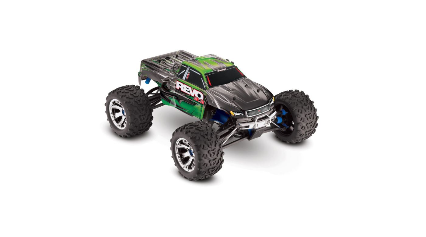 Image for 1/10 Revo 3.3 4WD Nitro Monster Truck RTR with TSM, Green from HorizonHobby