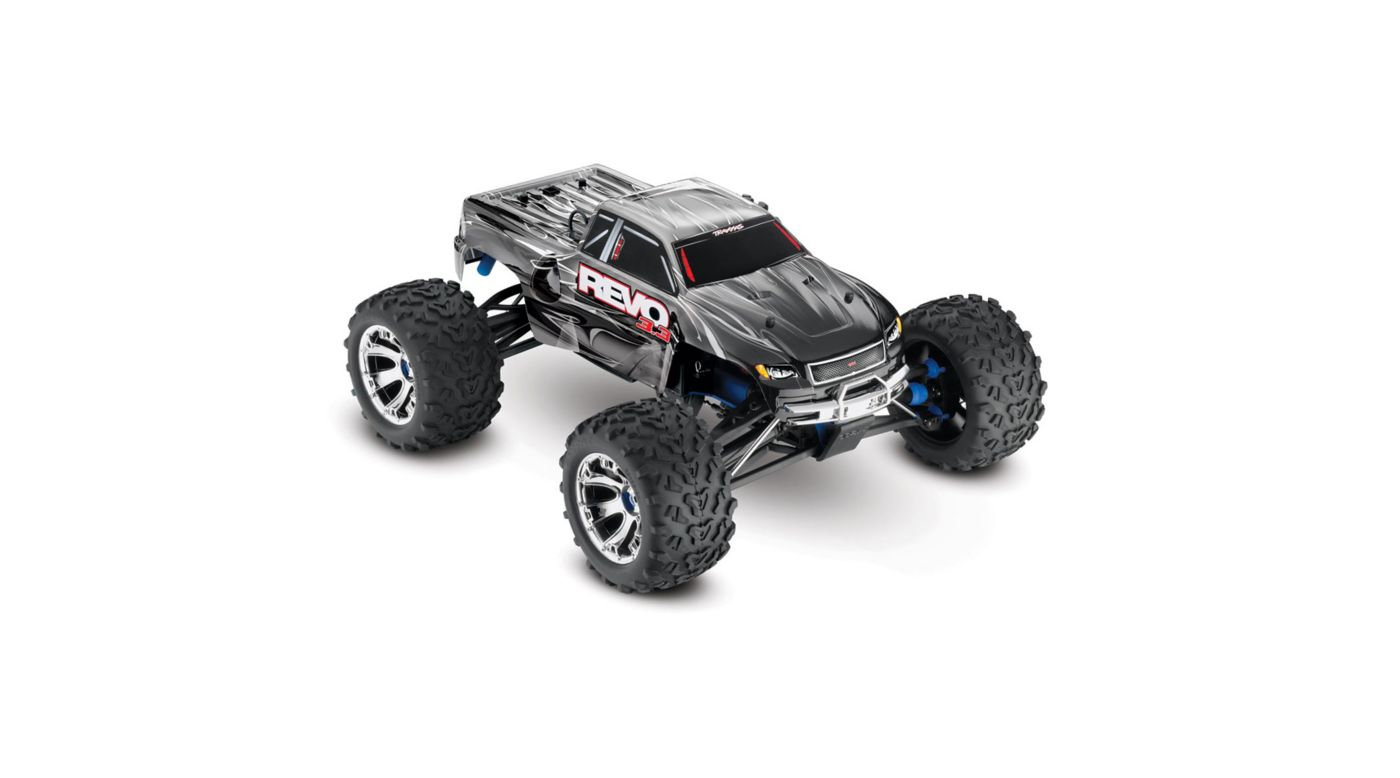 Image for 1/10 Revo 3.3 4WD Nitro Monster Truck RTR with TSM, Black from HorizonHobby