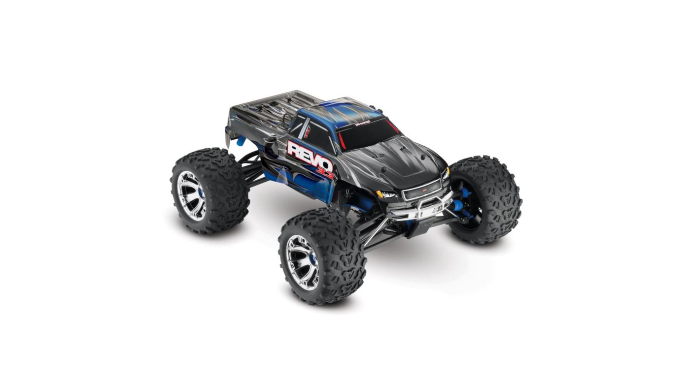 Image for Revo 3.3 4WD RTR with TQi 2.4GHz 3-Ch Radio  Blue from HorizonHobby