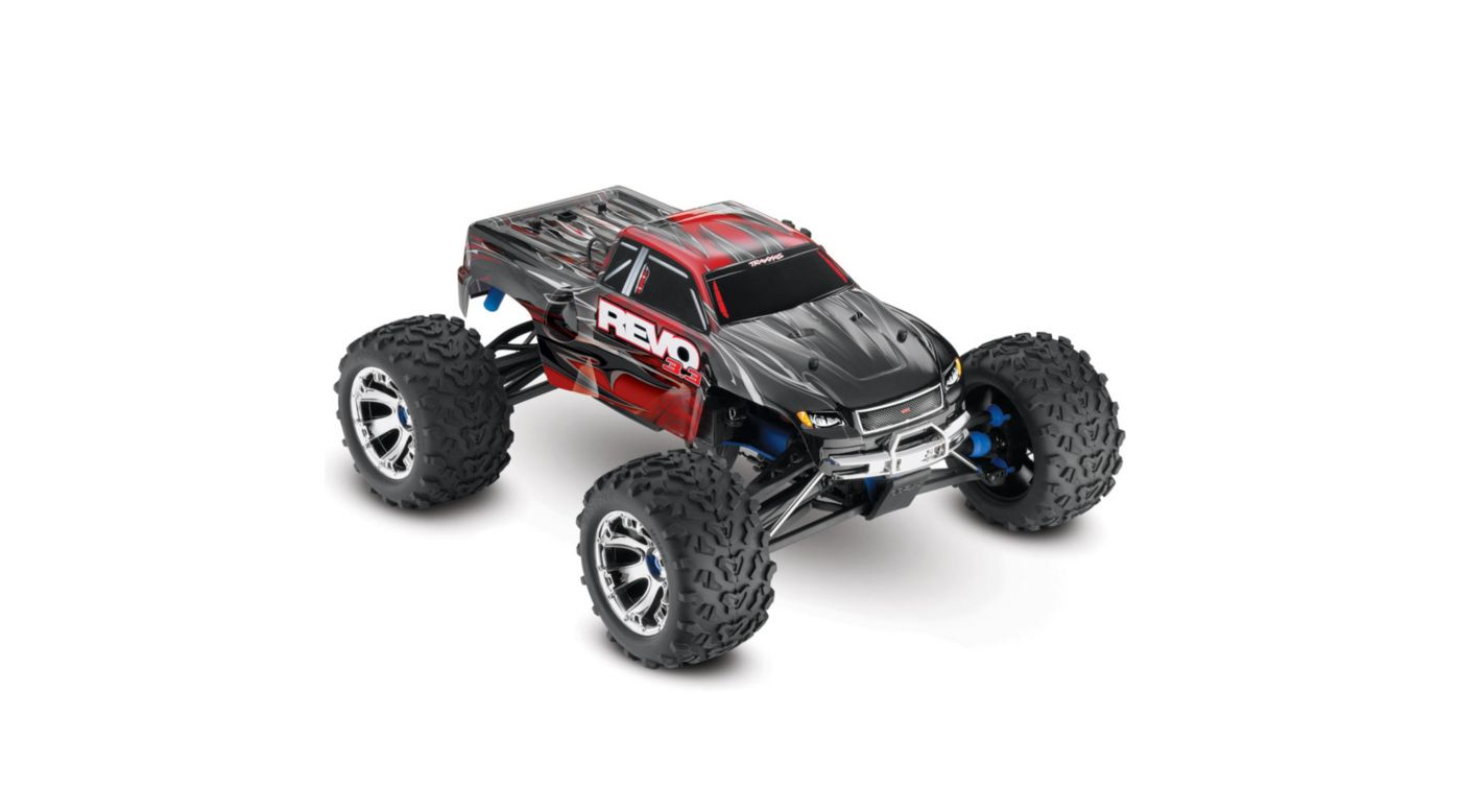 Image for Revo 3.3 4WD RTR with TQi 2.4GHz 3-Ch Radio  Red from HorizonHobby