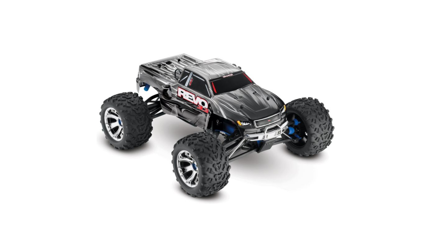 Image for Revo 3.3 4WD RTR with TQi 3-Ch Radio  Black from HorizonHobby