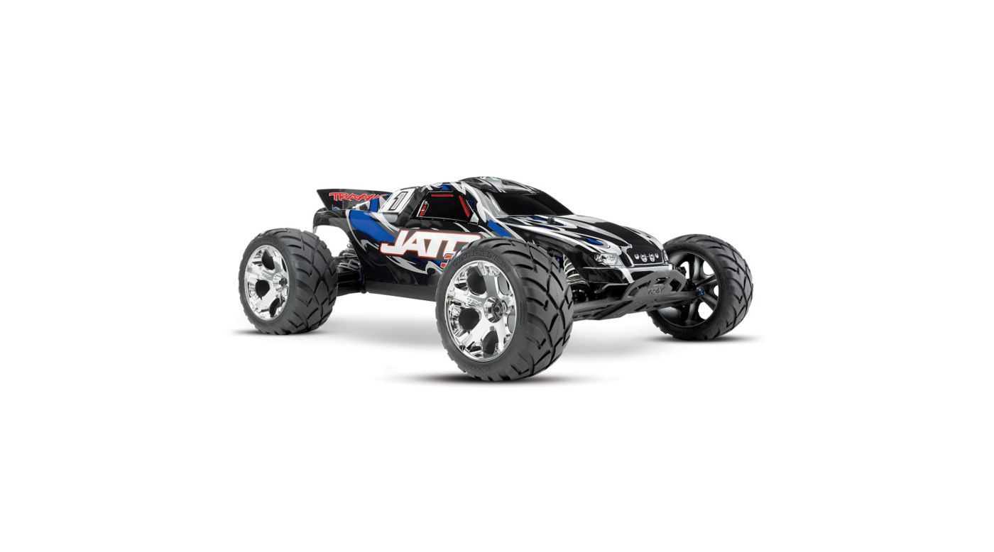 Image for 1/10 Jato 3.3 2WD RTR Nitro Stadium Truck with TSM, Blue from HorizonHobby