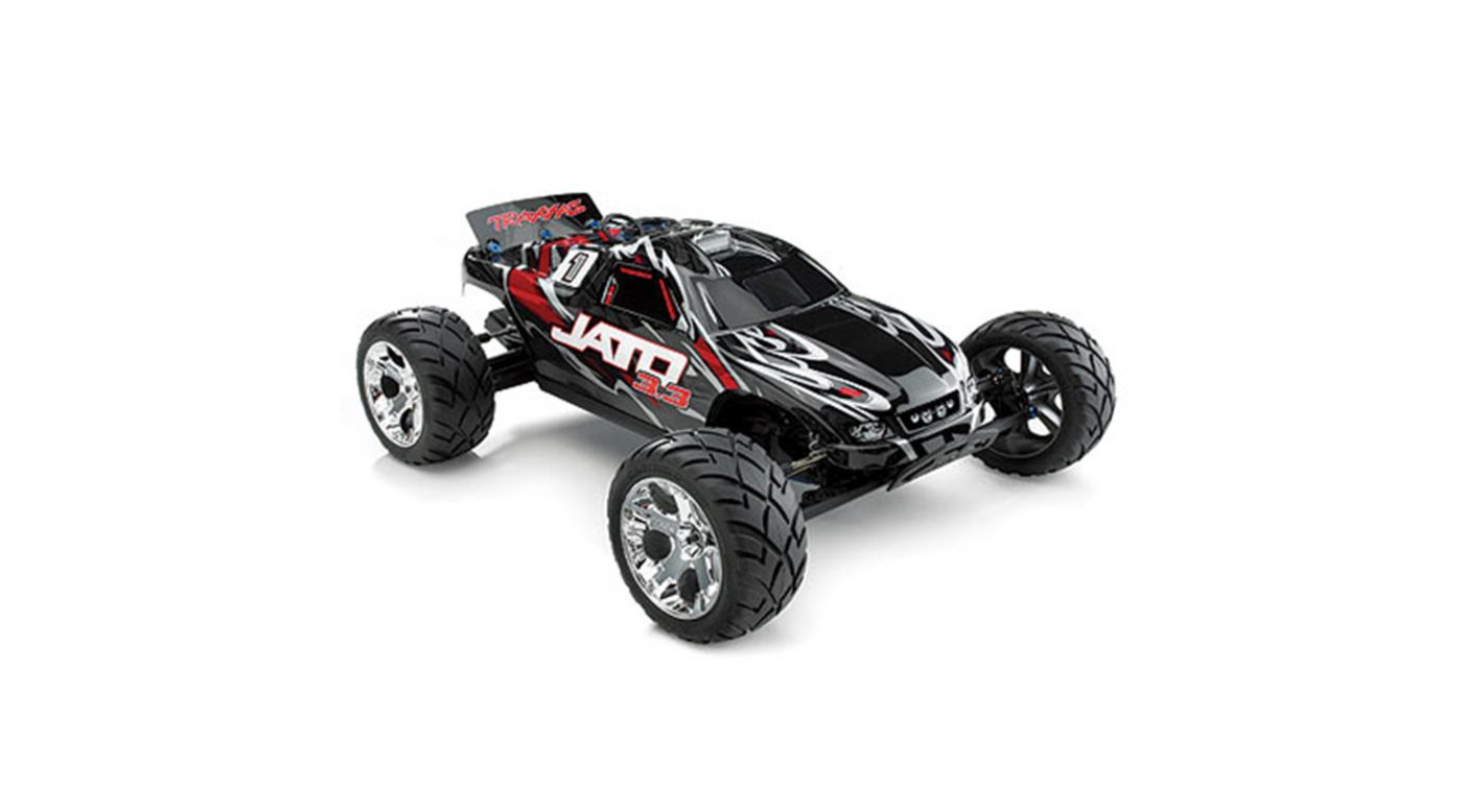 Image for 1/10 Jato 3.3 2WD RTR Nitro Stadium Truck with TSM, Red from HorizonHobby