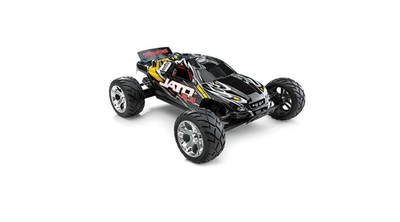 Image for 1/10 Jato 3.3 2WD RTR Nitro Stadium Truck with TSM, Yellow from HorizonHobby