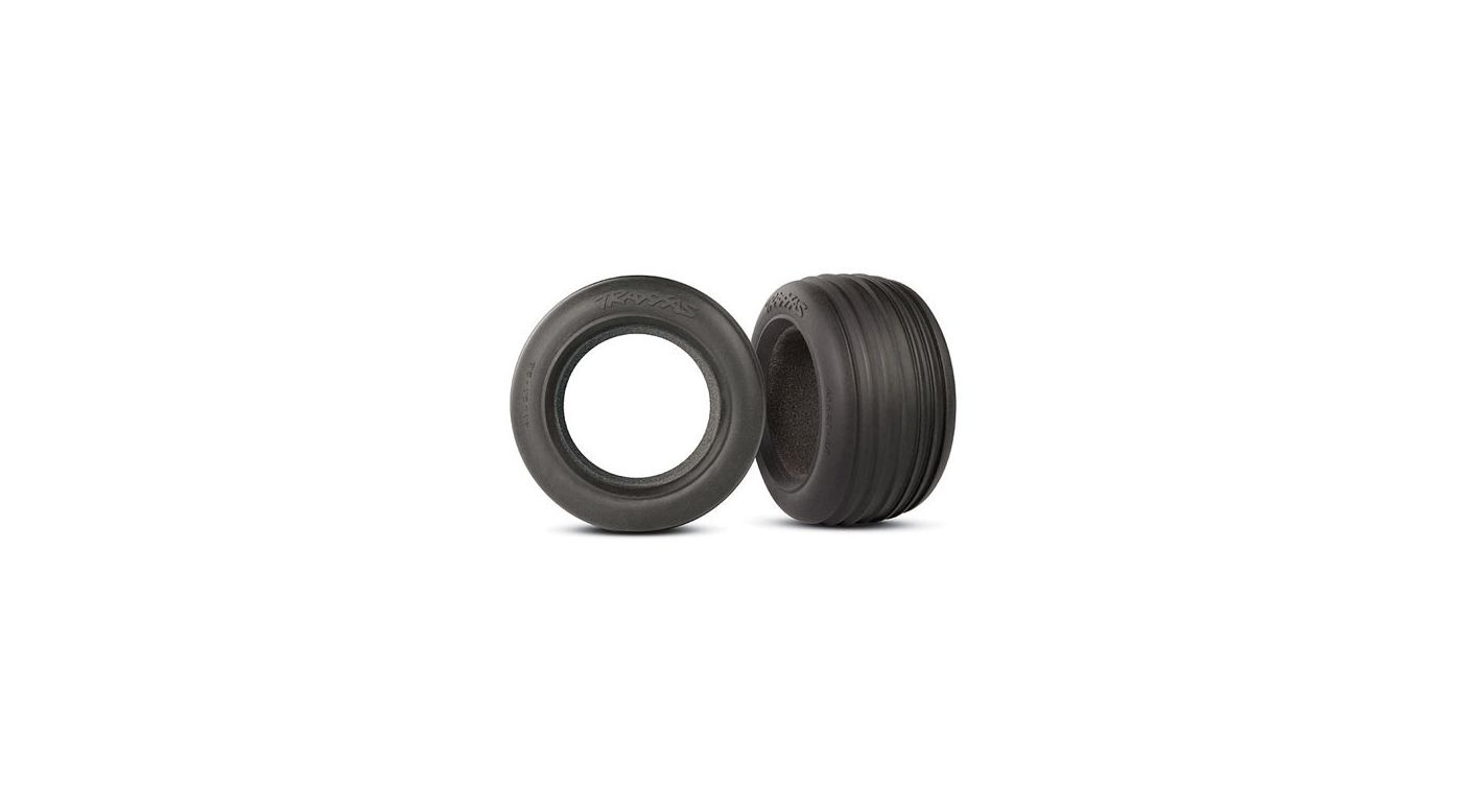 Image for Fr Tires 2.8 , Ribbed w/ Foam: RU, ST from HorizonHobby