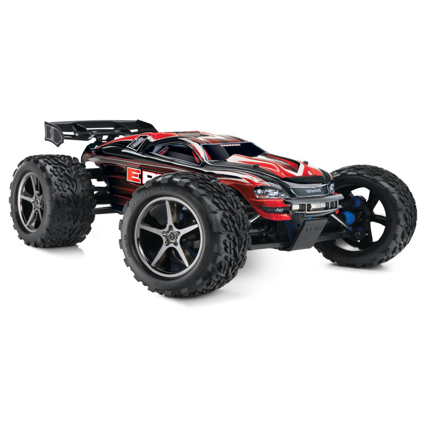 1/10 E-Revo 4WD Monster Truck Brushed RTR with TSM, Red