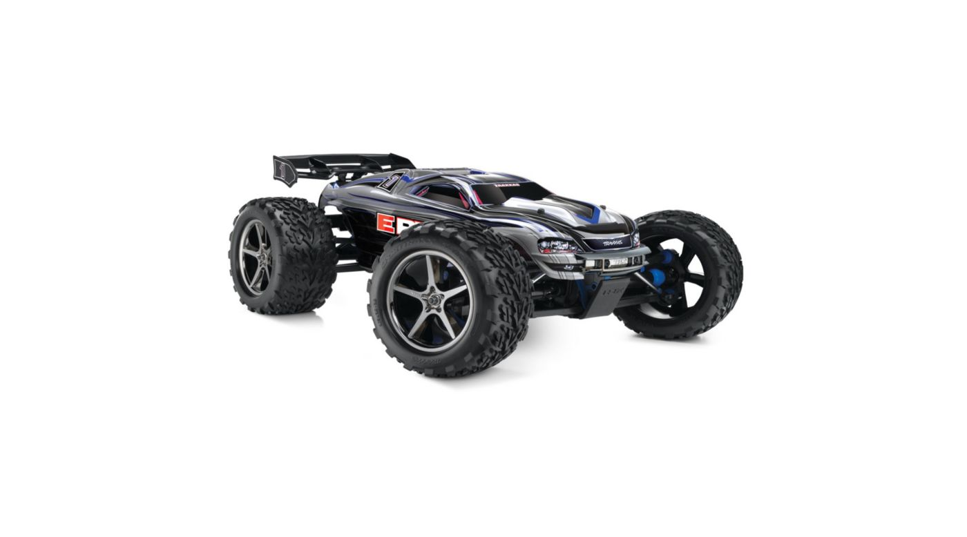 Image for 1/10 E-Revo 4WD Monster Truck Brushed RTR with TSM, Silver from HorizonHobby