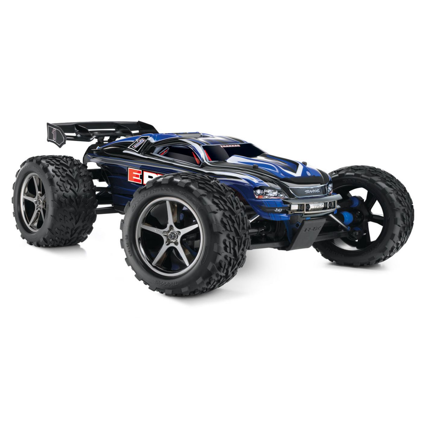 1/10 E-Revo 4WD Monster Truck Brushed RTR with TSM, Blue