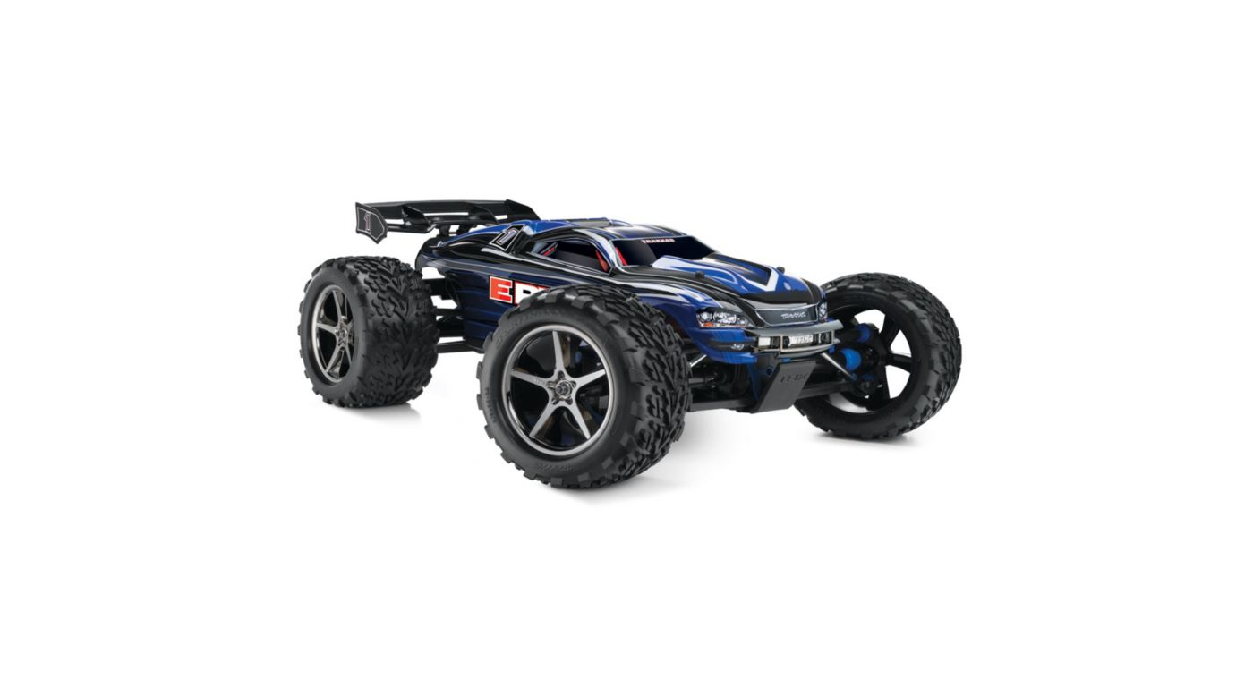 Image for 1/10 E-Revo 4WD Monster Truck Brushed RTR with TSM, Blue from HorizonHobby