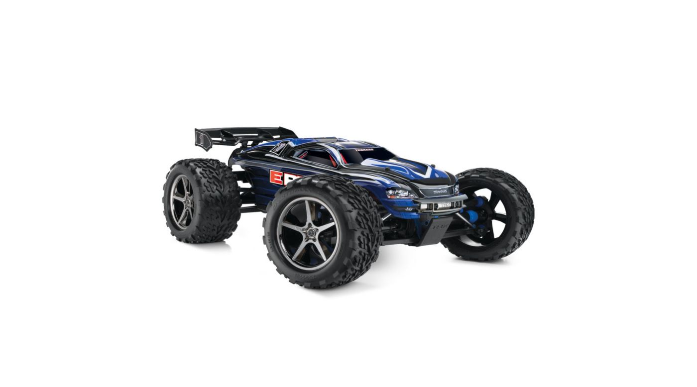 Image for 1/10 E-Revo RTR with EVX2 2.4GHz Radio & Battery: Blue from HorizonHobby