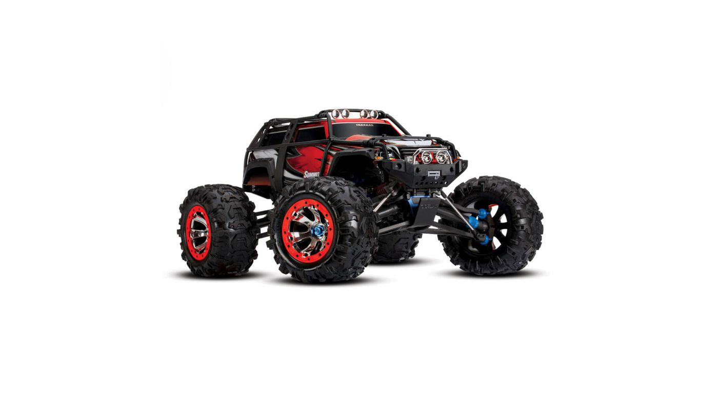 Image for 1/10 Summit 4WD Extreme Terrain Monster Truck Brushed RTD, Red from HorizonHobby