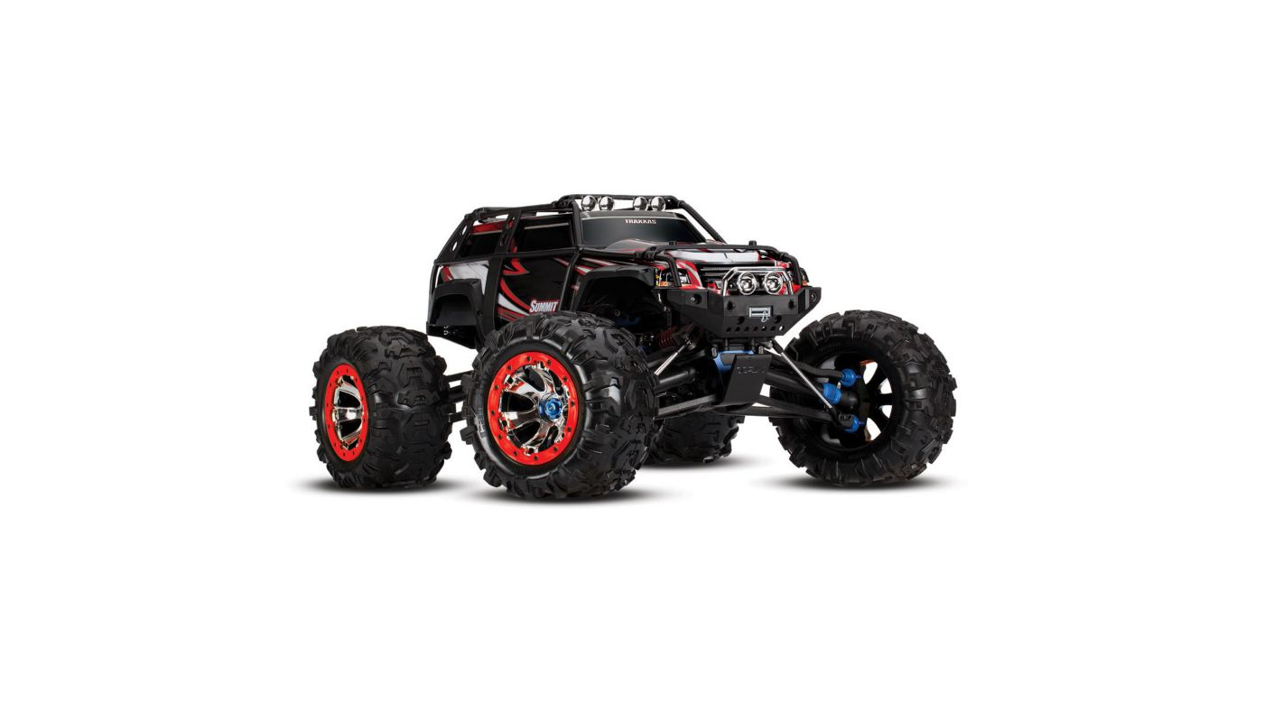Image for 1/10 Summit 4WD Extreme Terrain Monster Truck Brushed RTD, Black from HorizonHobby