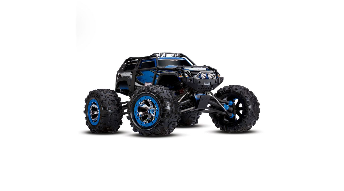 Image for 1/10 Summit 4WD Extreme Terrain Monster Truck Brushed RTD, Blue from HorizonHobby