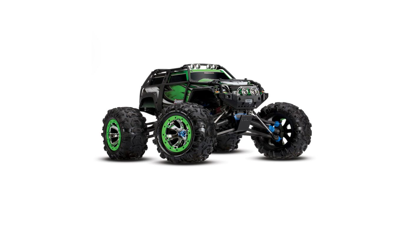 Image for 1/10 Summit 4WD Extreme Terrain Monster Truck Brushed RTD, Green from Horizon Hobby