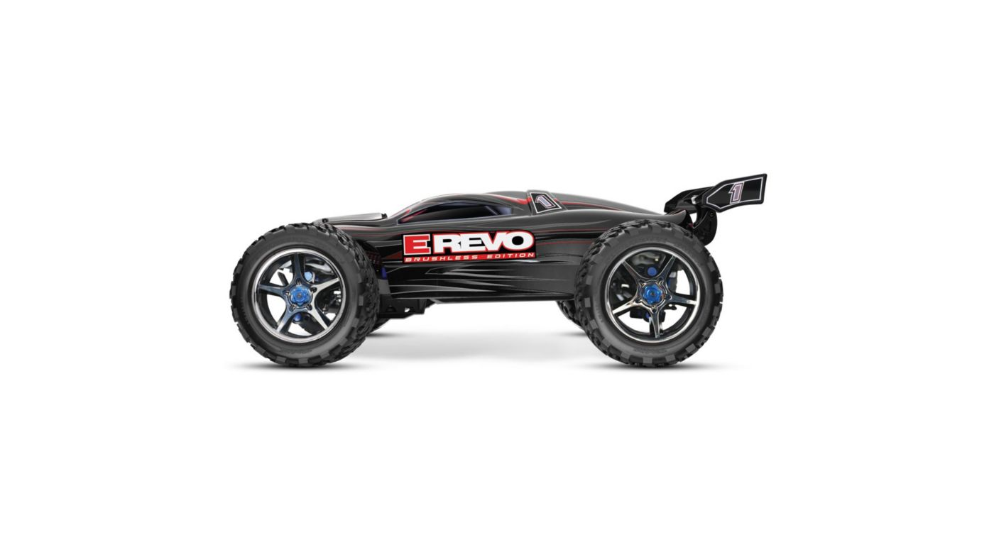 Image for E-Revo BL RTR w/ 5000mAh 3-Cell LiPo Battery (2), Black from HorizonHobby