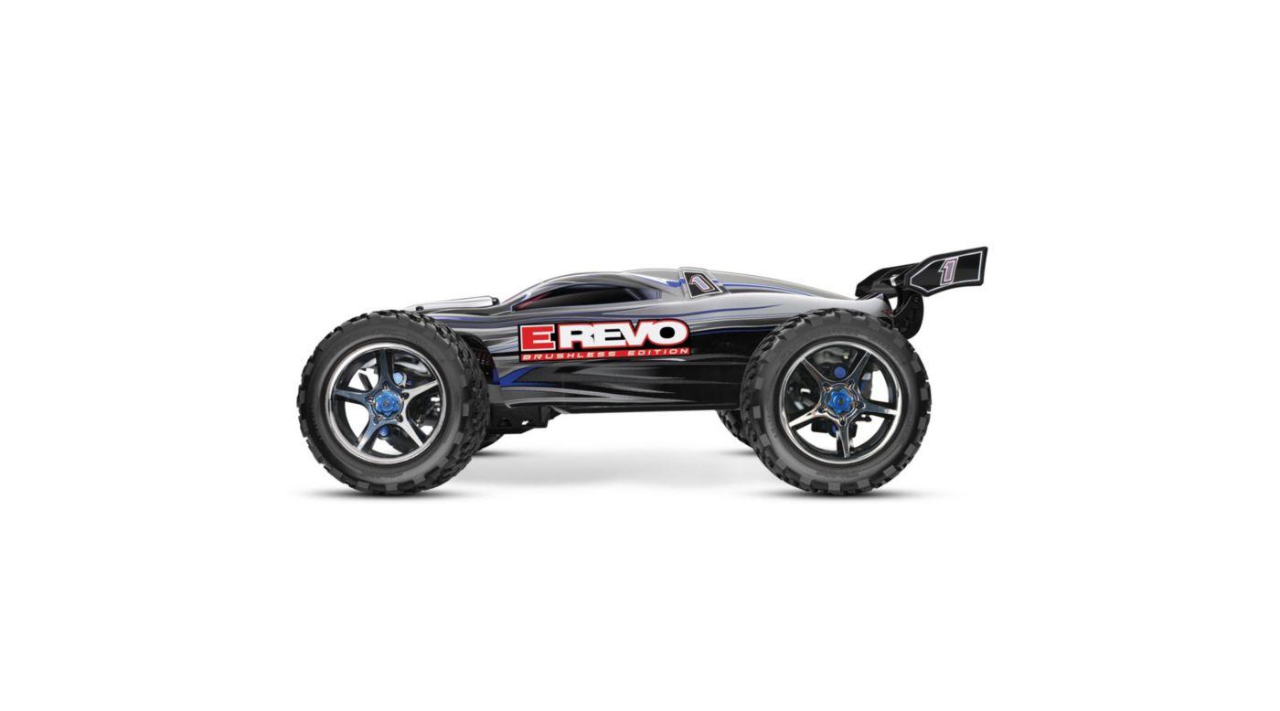 Image for E-Revo BL RTR w/ 5000mAh 3-Cell LiPo Battery (2), Silver from HorizonHobby