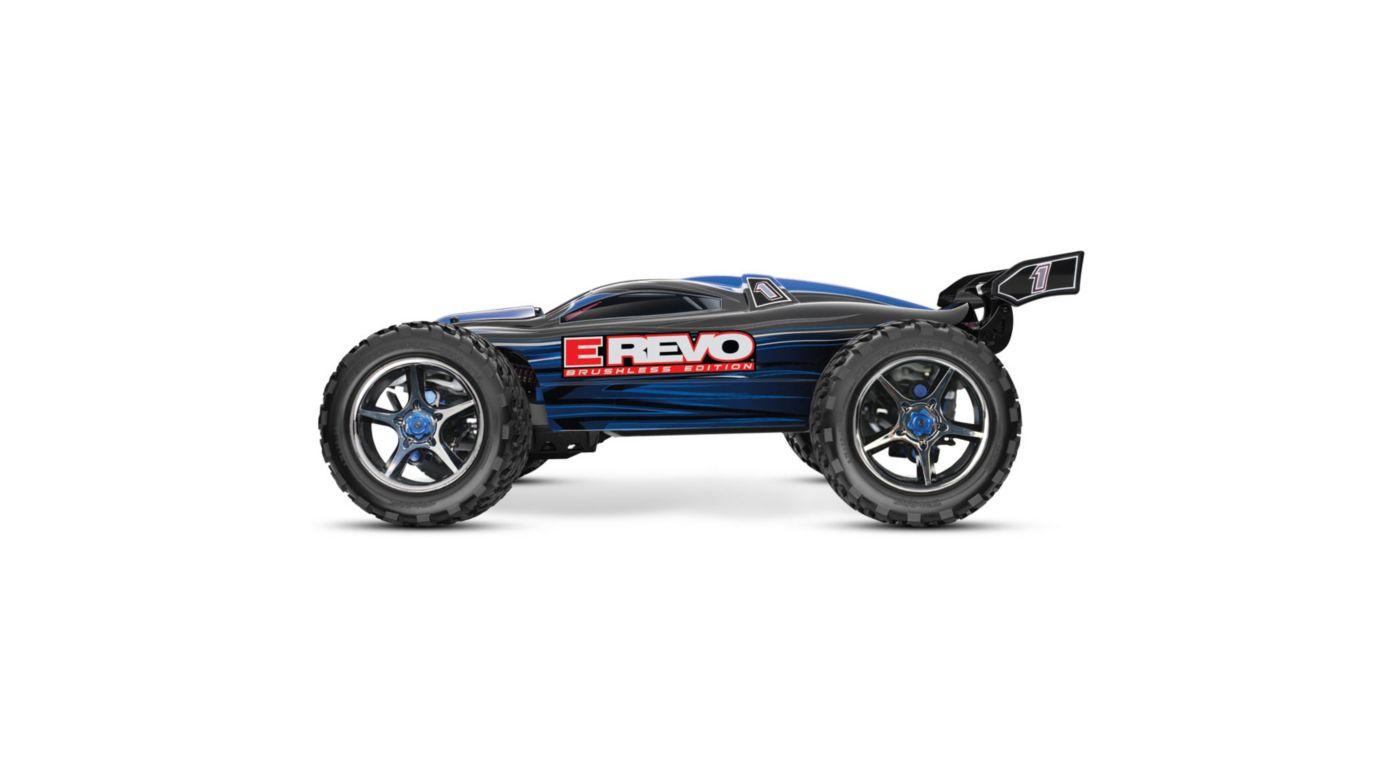 Image for E-Revo BL RTR w/ 5000mAh 3-Cell LiPo Battery (2), Blue from HorizonHobby