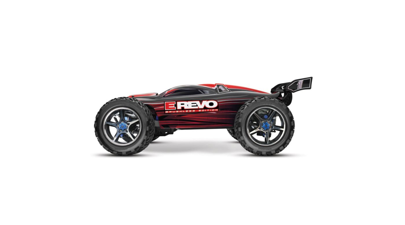 Image for E-Revo BL RTR w/ Castle Mamba & TQi 2.4 Radio  Red from HorizonHobby
