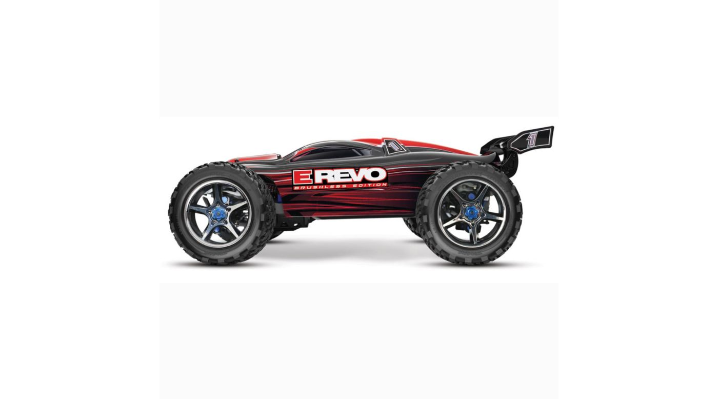 Image for E-Revo Brushless RTR, TQi 2.4GHz without Battery: Red from HorizonHobby