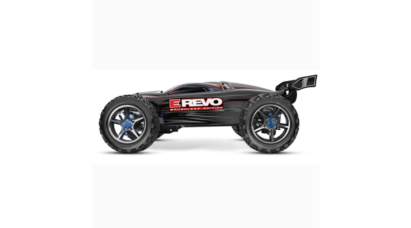 Image for E-Revo Brushless RTR, TQi 2.4GHz without Battery: Black from HorizonHobby