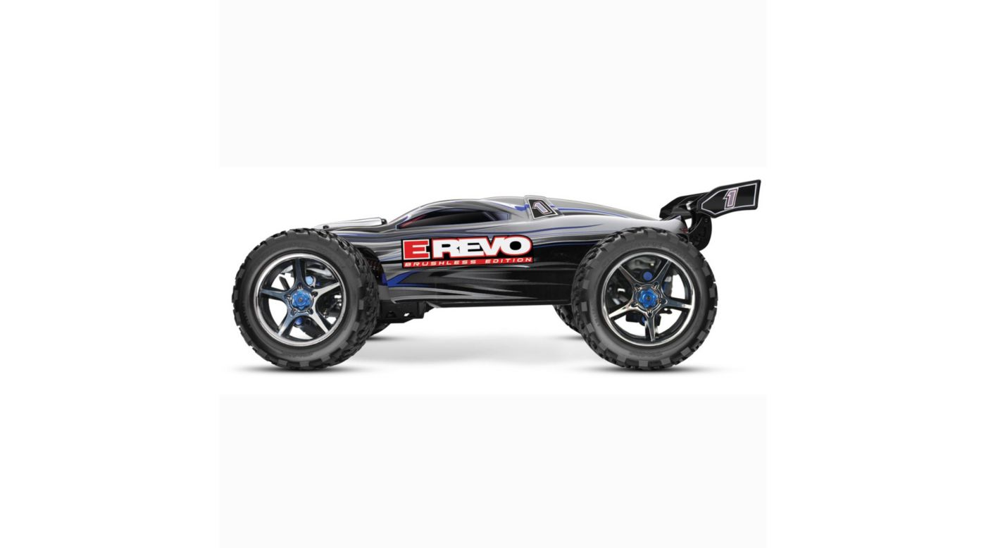Image for E-Revo Brushless RTR, TQi 2.4GHz without Battery: Silver from HorizonHobby