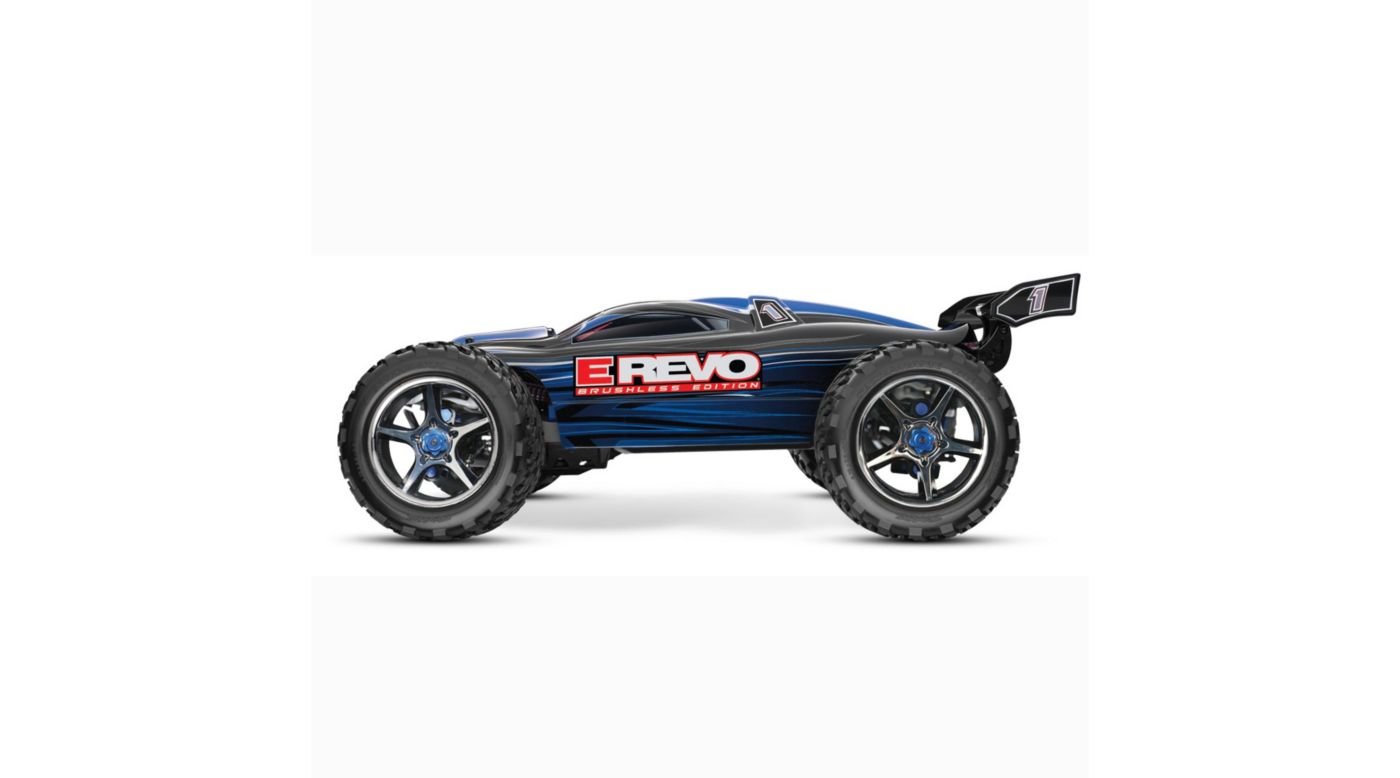 Image for E-Revo Brushless RTR, TQi 2.4GHz without Battery: Blue from HorizonHobby