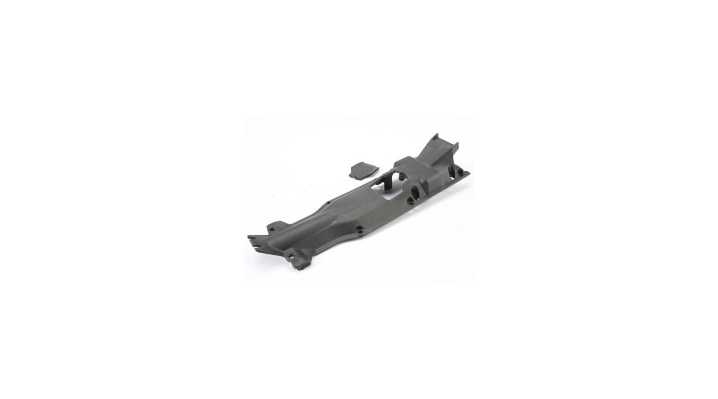 Image for Transmission Skidplate, Black: E-Revo from HorizonHobby
