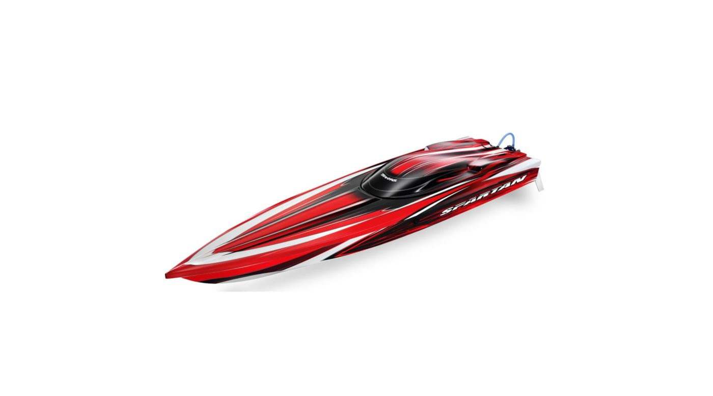 Image for Spartan RTR Boat w/5000mAh 3-Cell LiPo Battery (2), Red from HorizonHobby