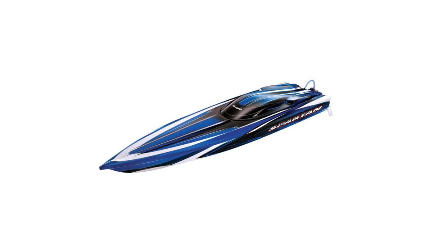 Image for Spartan RTR Boat w/5000mAh 3-Cell LiPo Battery (2), Blue from HorizonHobby