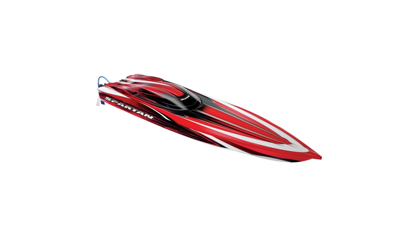 Image for Spartan VXL BL Boat with 2.4 TQi Radio, Red from HorizonHobby