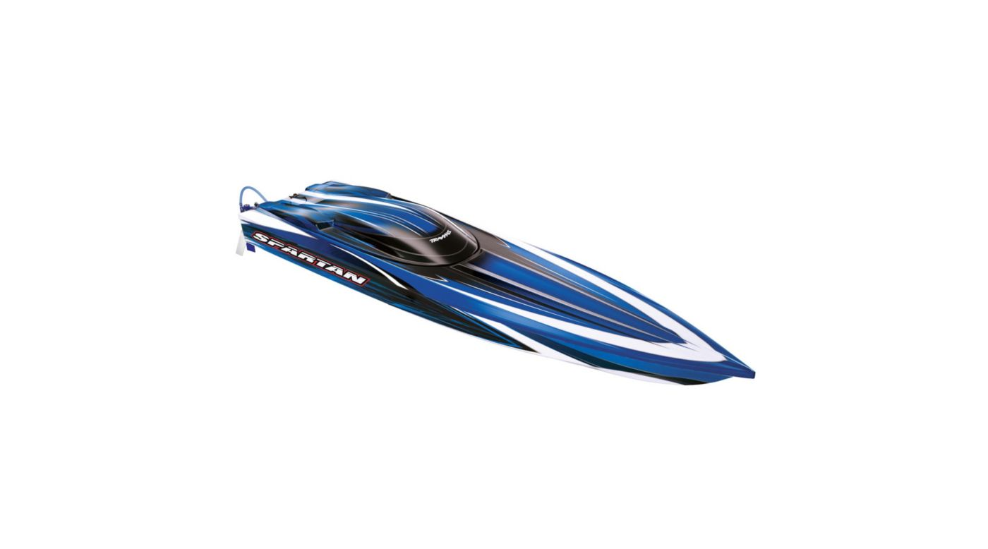 Image for Spartan VXL BL Boat with 2.4 TQi Radio, Blue from HorizonHobby