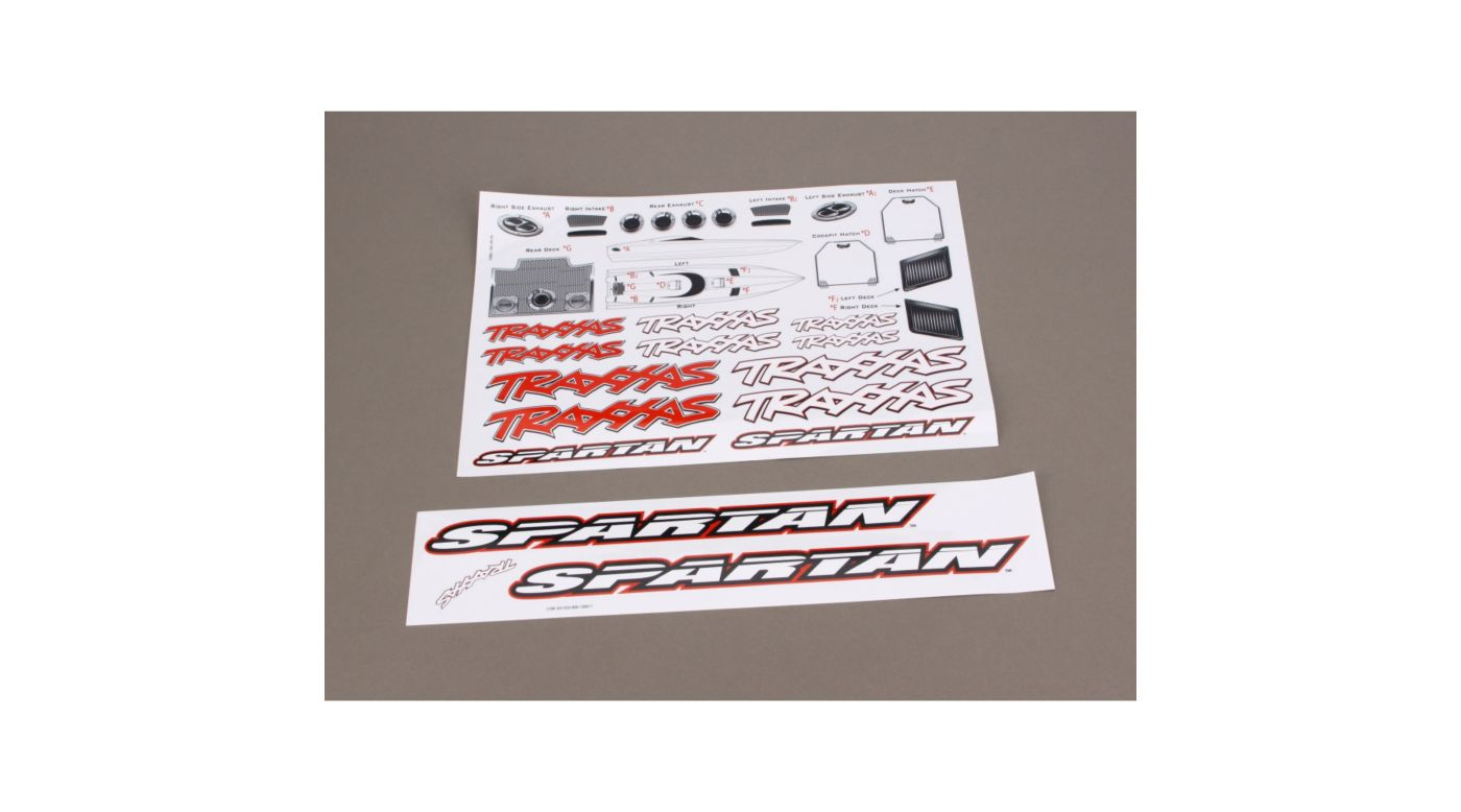 Image for Decal Sheet: Spartan from HorizonHobby