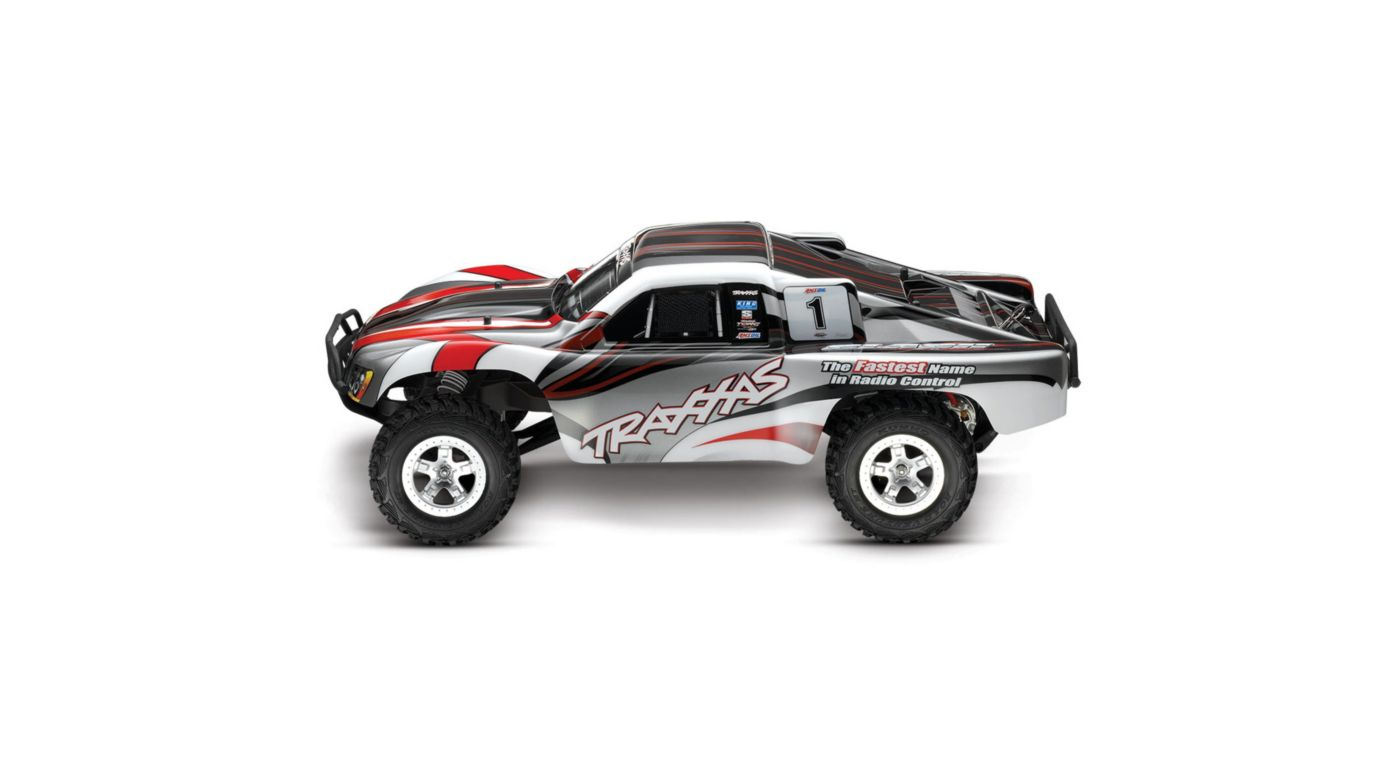 Image for 1/10 Slash 2WD SCT Brushed RTR, Red/Silver from HorizonHobby