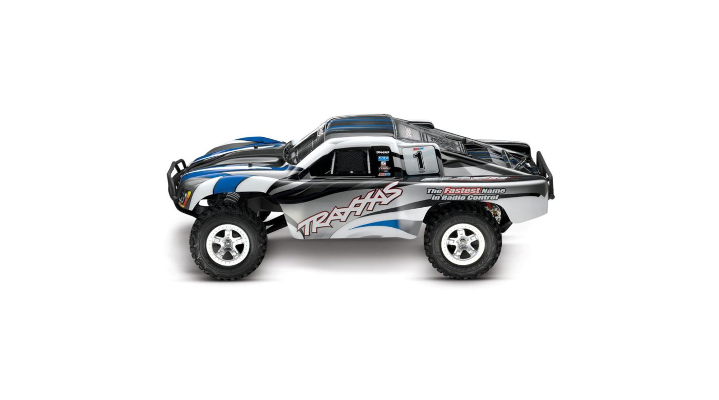Image for 1/10 Slash 2WD SCT Brushed RTR, Blue/Silver from HorizonHobby