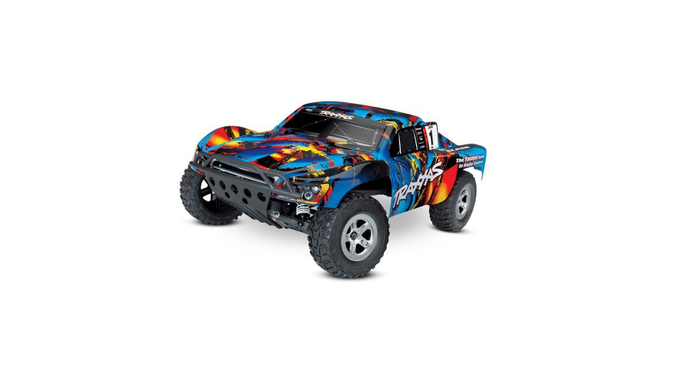 1/10 Slash 2WD SCT Brushed RTR, Rock and Roll | HorizonHobby