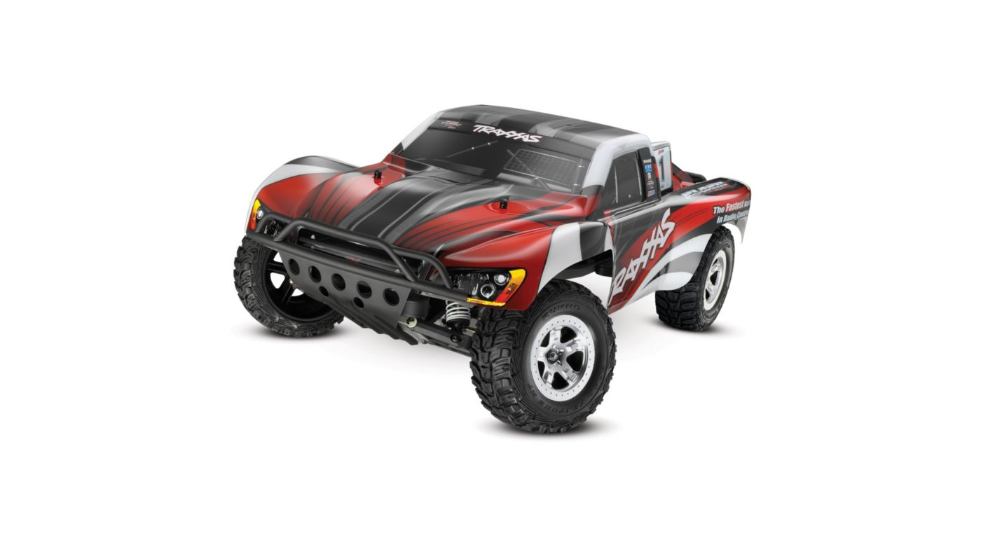 Image for Slash 2WD RTR XL-5 w/ 2-Channel AM Radio Red Body from HorizonHobby