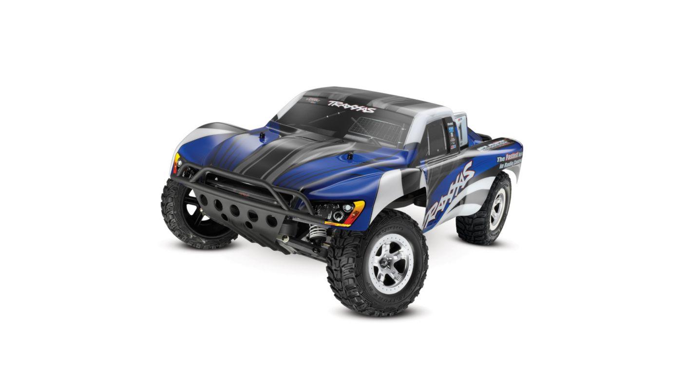 Image for Slash 2WD RTR XL-5 w/ 2-Channel AM Radio Blue Body from HorizonHobby
