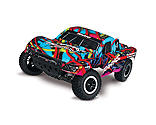 Traxxas - 1/10 Slash 2WD SCT Brushed RTR, Hawaiian Edition