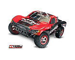 Traxxas - 1/10 Slash 2WD SCT Brushed RTR with OBA, Red