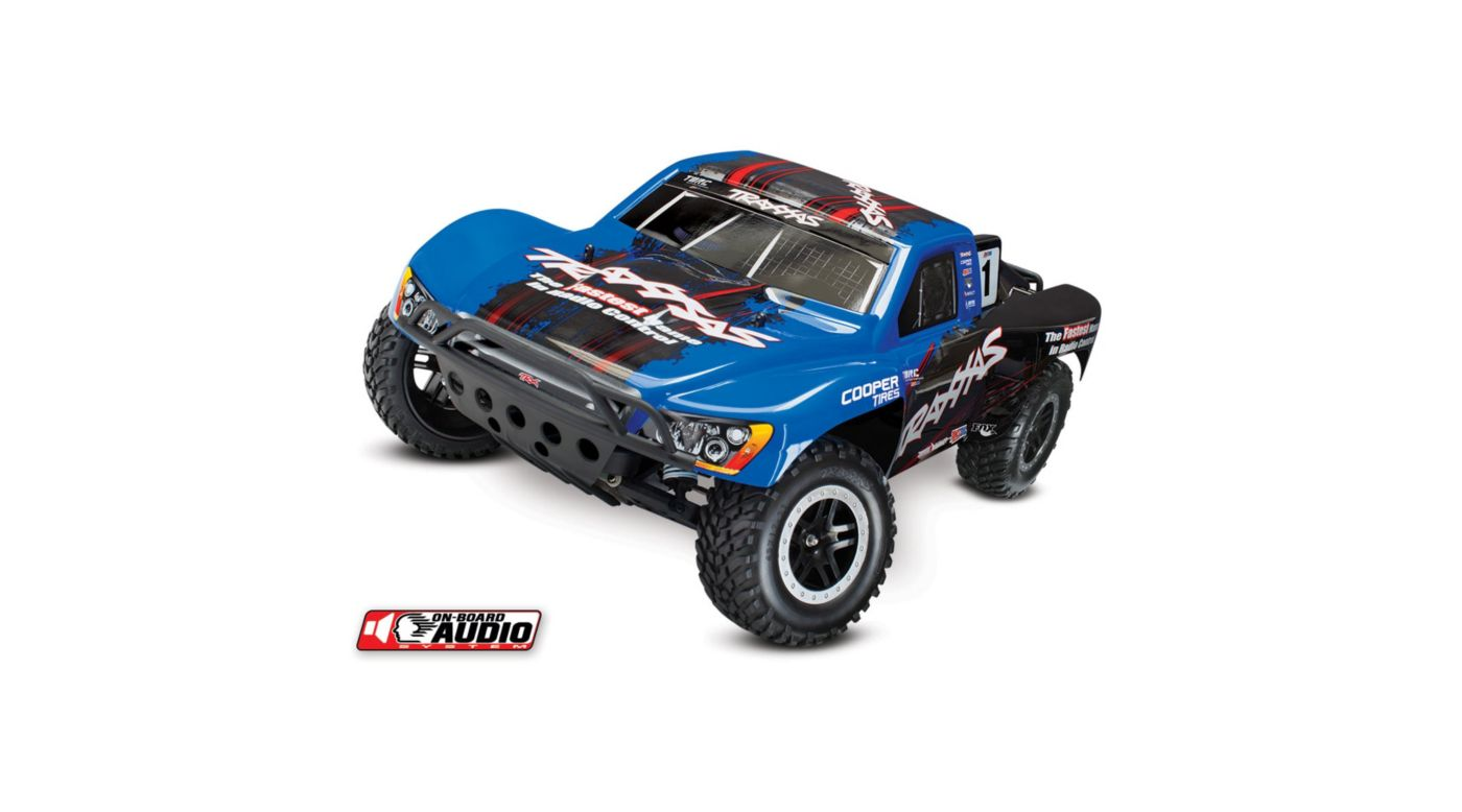 Image for 1/10 Slash 2WD SCT Brushed RTR with OBA, Blue from HorizonHobby