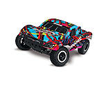Traxxas - 1/10 Slash 2WD SCT Brushed RTR, Hawaiian Body