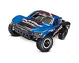 Traxxas - 1/10 Slash 2WD VXL SCT RTR with Audio, ID, TQ 2.4GHz, Blue