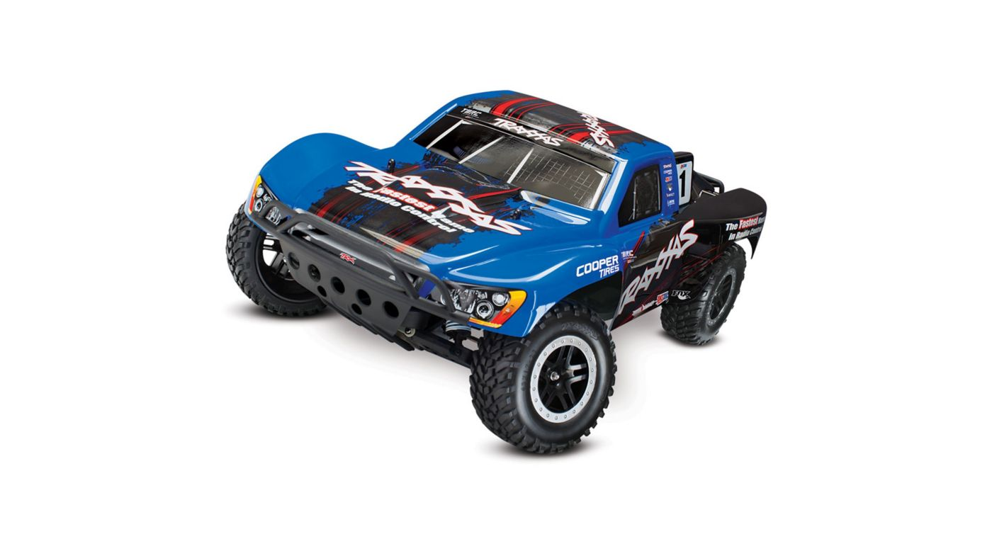 Image for 1/10 Slash 2WD VXL SCT RTR with On Board Audio Module, ID, TQ 2.4GHz, Blue from HorizonHobby