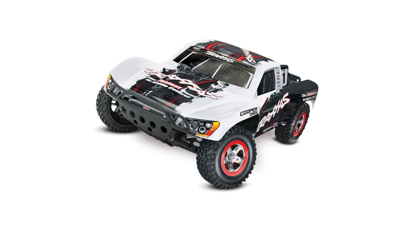 Image for 1/10 Slash 2WD VXL SCT RTR with On Board Audio Module, ID, TQ 2.4GHz, White from HorizonHobby