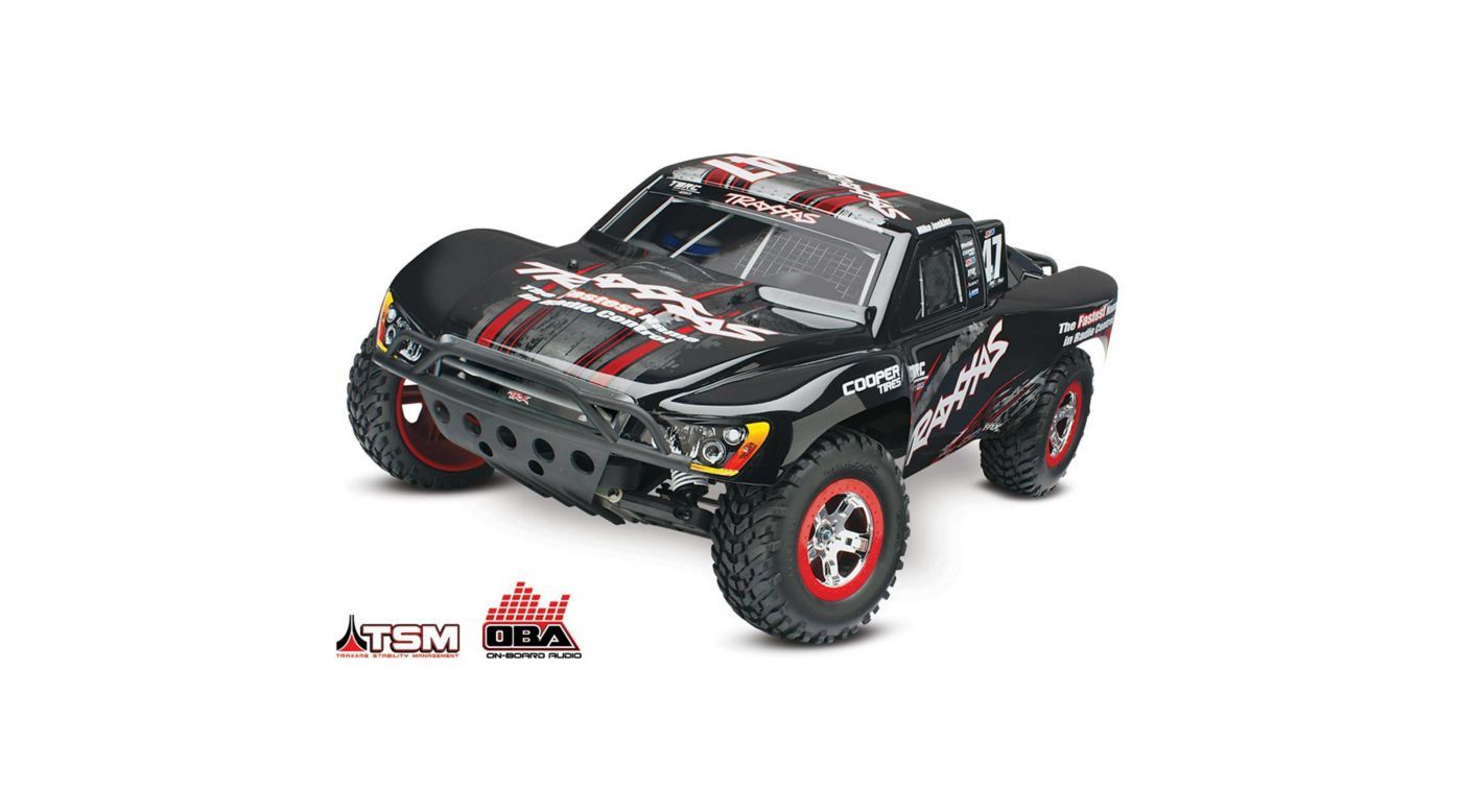1/10 Slash 2WD SCT Brushless RTR with TSM and OBA, Mike