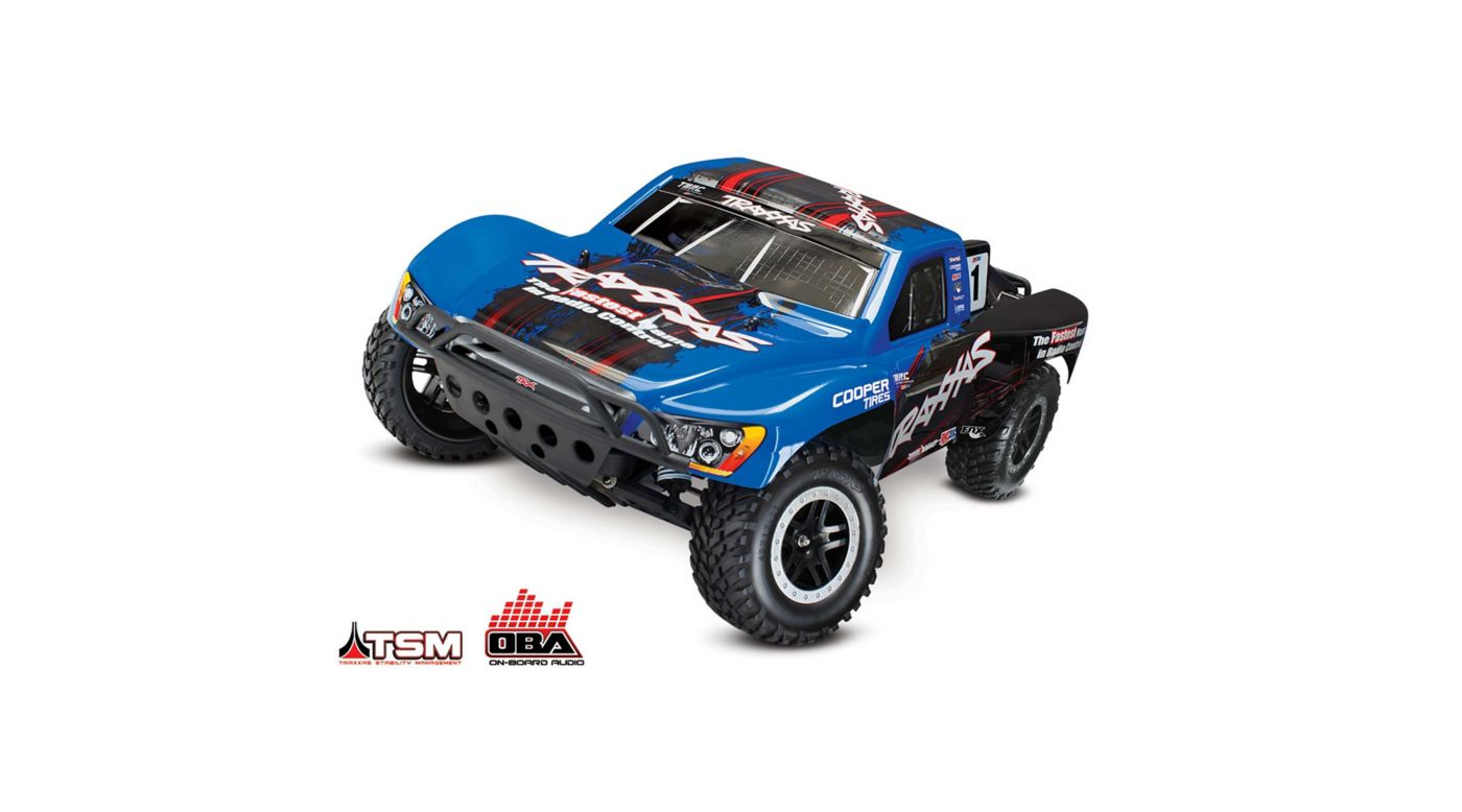 Image for 1/10 Slash 2WD SCT Brushless RTR with TSM and OBA, Blue from HorizonHobby